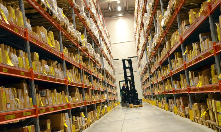 Having the proper storage space for your inventory is one way to make inventory easier for all involved